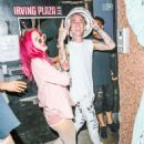 Bella Thorne in Pink at Blackbear in NYC