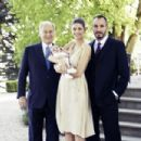 Kendra&Prince Rahim with their child - 454 x 303