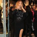 Barbara Palvin Opening The New Rosa Cha Boutique In Sao Paulo