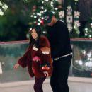 Kourtney Kardashian – Ice skating at a Christmas party in Thousand Oaks - 454 x 621