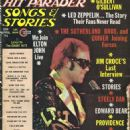 Hit Parader Magazine Cover [United States] (April 1974)