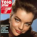 Romy Schneider - Télé Star Magazine Cover [France] (October 1990)