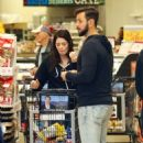 Ashley Greene and Paul Khoury – Shopping for Thanksgiving in LA - 454 x 714