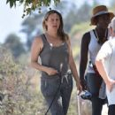 Alicia Silverstone – Out on a hike with her dogs in Los Angeles - 454 x 699