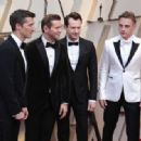 Gwilym Lee, Allen Leech, Joseph Mazzello, and Ben Hardy At The 91st Annual Academy Awards - Arrivals - 454 x 317