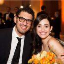 Sam Esmail and Emmy Rossum