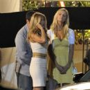 "Jennifer Aniston - Films ""Just Go With It"" with Adam Sandler & Brooklyn Decker - March 19, 2010"