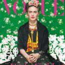 Frida Kahlo - Vogue Magazine Cover [Mexico] (1 November 2012)