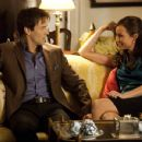 Stephen Moyer and Courtney Ford