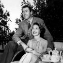 Gloria Hatrick McLean and Jimmy Stewart