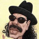 Carlos Santana   -  Wallpaper - 420 x 600