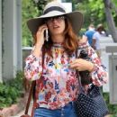 Kate Walsh at Alfred's Coffee in LA - 454 x 682
