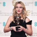 Kate Winslet-February 14, 2016-EE British Academy Film Awards - Winners Room - 443 x 600