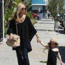 Rachel Zoe was spotted running errands with her son Kaius Berman in Los Angeles, California on March 24, 2017 - 446 x 600