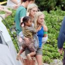 AnnaSophia Robb - On Set Of Soul Surfer