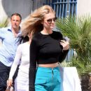 Toni Garrn At Hotel Martinez In Cannes