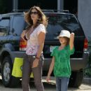 Cindy Crawford Out And About With Kaya In Malibu , 2009-05-17