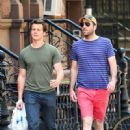 Zachary Quinto and Jonathan Groff