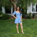 """Emeraude Toubia – Visits Hallmark's """"Home & Family"""" in Universal City 05/23/2019 - 454 x 303"""