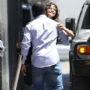 Selena Gomez – Heads to church with a friend in Los Angeles