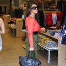 Kourtney Kardashian: showed up at the Dash boutique location in Miami