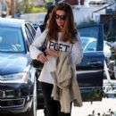 Maria Shriver spends time out and about in Brentwood, California on January 08, 2016 - 403 x 600