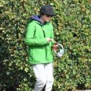 Ellen Page is seen leaving the gym after a workout in Los Angeles, California on January 13, 2015