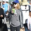 Genevieve Hannelius at Farmers Market in Studio City - 454 x 842