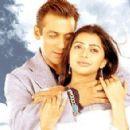 Salman Khan and Bhumika Chawla