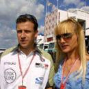 Olivier Panis and Anne Panis - 400 x 266
