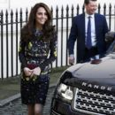 Prince William, Duchess Catherine and Harry attend ICA Briefing