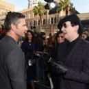 Marilyn Manson attends the premiere of Warner Bros. Pictures'
