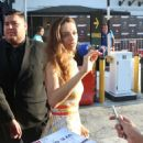 Angela Sarafyan – Signs autographs and greets fans in Hollywood - 454 x 498