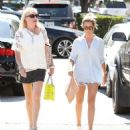 Ashley Tisdale Shopping At Barneys In Los Angeles