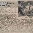 12 Angry Men - Cine Revelation Magazine Pictorial [France] (3 October 1957)