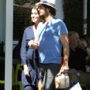 Nikki Reed and Ian Somerhalder Out in Los Angeles - 454 x 715