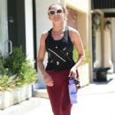 Rachael Leigh Cook – Leaves workout in Studio City - 454 x 682
