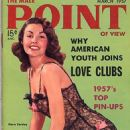 Mara Corday - Male Point Magazine Cover [United States] (March 1957)