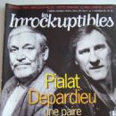 Gérard Depardieu - les inrockuptibles Magazine Cover [France] (1 November 1995)