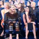 Selena Gomez in the audience at the 2015 MTV Video Music Awards at Microsoft Theater on August 30, 2015 in Los Angeles, California