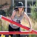 Kaley Cuoco – Seen At Equestrian Center In Los Angeles - 454 x 343