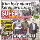 Kuba Wojewódzki - Super Express Magazine Cover [Poland] (27 May 2020)