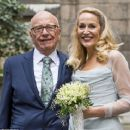 Rupert Murdoch and Jerry Hall wedding at St. Bride's Church on Fleet Street, London, Britain - 5 March 2016 - 454 x 370