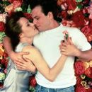 Christian Slater and Mary Masterson