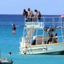 Andrea Corr in Black Bikini in Barbados - 454 x 408