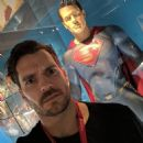 Henry Cavill- May 11, 2017- Art of DC - Dawn of the Superheroes' exhibition in Paris