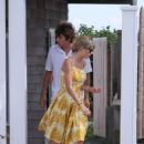 Taylor Swift spending time with Conor Kennedy in Hyannis Port (August 20)