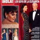Isabel Preysler - Hola! Magazine Cover [Spain] (17 February 2016)