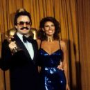 Giorgio Moroder and Raquel Welch At The 51st Annual Academy Awards (1979)