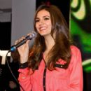 Victoria Justice attended a signing at the HMV on Oxford Circus, February 22. The Nickelodeon star was in London to promote Victorious